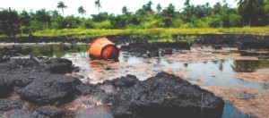 Oil spill in Niger Delta