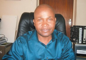 Chiredzi Town Council secretary, Charles Muchatukwa. Photo by Walter Mafeking, Lowveld Post (Pvt) Ltd