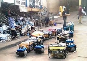 Generators for electricity in Nigeria